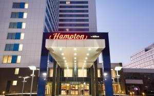 Отель Hampton by Hilton Moscow Strogino, Москва