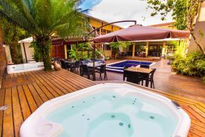 Flat Vila Morena, Apartments  Camburi - big - 12