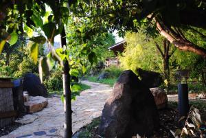 wooden Edge Of The Village, Lodges  Ma'ale Gamla - big - 41