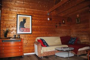 wooden Edge Of The Village, Lodges  Ma'ale Gamla - big - 12