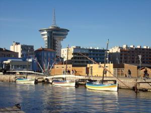 HoteI de la Plage Montpellier Sud, Hotels  Palavas-les-Flots - big - 33