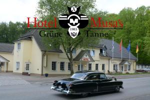 Hotel Musa's Grüne Tanne, Penzióny  Hamburg - big - 20