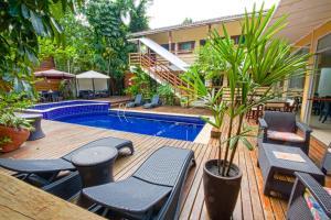 Flat Vila Morena, Apartments  Camburi - big - 20