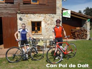 Turismo Rural Can Pol de Dalt - Bed and Bike, Case di campagna  Bescanó - big - 22