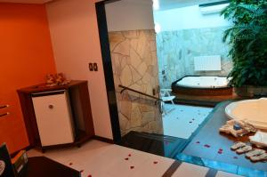 Motel Giro D'Água (Adult Only), Hodinové hotely  Caxias do Sul - big - 31