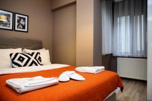 Akin Suites, Апарт-отели  Стамбул - big - 52