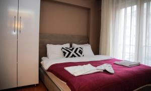 Akin Suites, Апарт-отели  Стамбул - big - 74