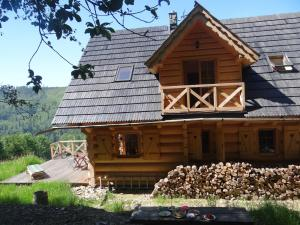 Dom Kawa na Kotarzu, Дома для отпуска  Бренна - big - 4