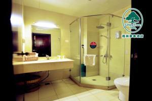 GreenTree Inn Hebei Qinhuangdao Peace Avenue Express Hotel, Szállodák  Csinhuangtao - big - 28