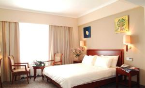 Albergues - GreenTree Inn Hebei Cangzhou Bohai New District Huanghua Port Express Hotel