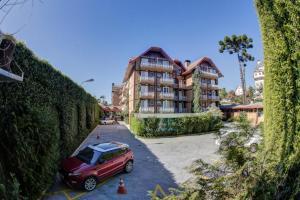 Flat Hotel Palazzo Reale, Aparthotels  Campos do Jordão - big - 54