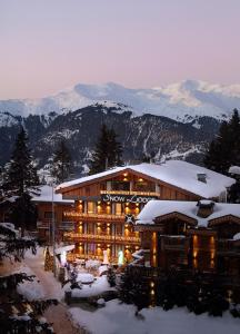 Snow Lodge Boutique Hotel - Courchevel