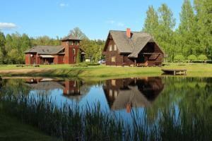 Recreation Center Brūveri, Комплексы для отдыха с коттеджами/бунгало  Сигулда - big - 121