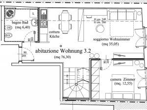 Appartamento Grande su 2 Livelli