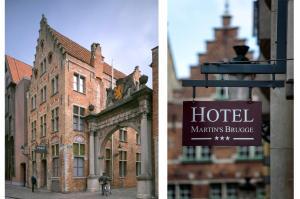 emblème de l'établissement Martin's Brugge