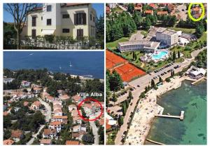 3 star apartment Apartments Villa Alba Poreč Croatia