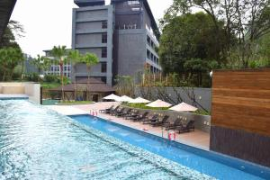 Fuli Hot Spring Resort, Szállodák  Jücsi - big - 46