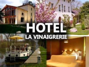 Location gîte, chambres d'hotes Hôtel La Vinaigrerie dans le département Haute Marne 52