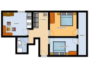 Gästehaus Gapp, Farmy  Wildermieming - big - 6