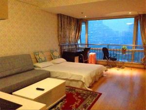 Beijing Tiandi Huadian Hotel Apartment Youlehui Branch, Ferienwohnungen  Peking - big - 3