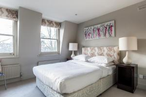 onefinestay - South Kensington private homes III, Апартаменты  Лондон - big - 20