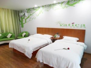 Vatica Hebei Langfang Pipeline Bureau General Hospital Hotel, Отели  Langfang - big - 33