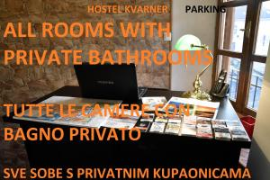 Hostel Kvarner-All private rooms with private bathrooms
