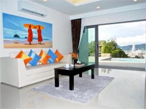 Patong Bay Hill 1 bedroom Apartment, Apartmány  Patong Beach - big - 12