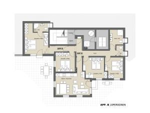 Apartment Alpensteinbock Saalbach B, Apartments  Saalbach Hinterglemm - big - 1