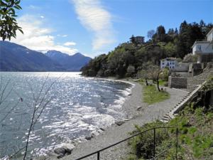 Alla Spiaggia, Апартаменты  Pianello Del Lario - big - 9