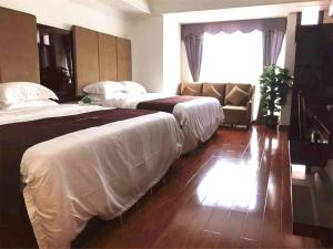 Golden Sunshine Apartment Panyu Wanda Plaza, Apartmány  Kanton - big - 13