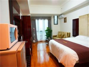 Golden Sunshine Apartment Panyu Wanda Plaza, Apartmány  Kanton - big - 2