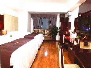 Golden Sunshine Apartment Panyu Wanda Plaza, Apartmány  Kanton - big - 11