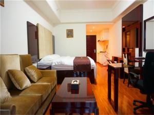 Golden Sunshine Apartment Panyu Wanda Plaza, Apartmány  Kanton - big - 24