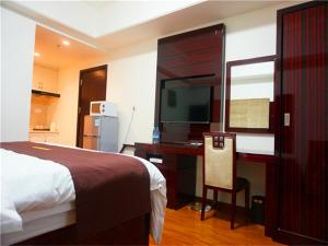 Golden Sunshine Apartment Panyu Wanda Plaza, Apartmány  Kanton - big - 17