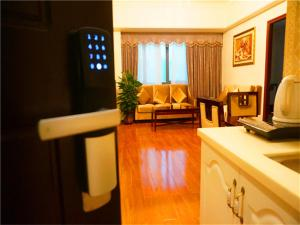 Golden Sunshine Apartment Panyu Wanda Plaza, Apartmány  Kanton - big - 12