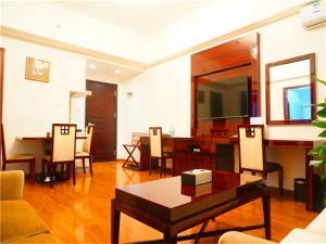 Golden Sunshine Apartment Panyu Wanda Plaza, Apartmány  Kanton - big - 15