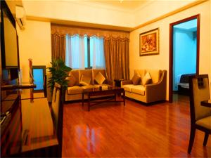 Golden Sunshine Apartment Panyu Wanda Plaza, Apartmány  Kanton - big - 34