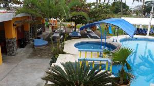 Hotel y Balneario Playa San Pablo, Отели  Монте-Гордо - big - 159