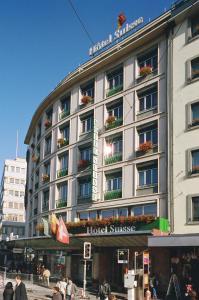 emblème de l'établissement Hotel Suisse