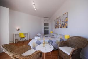 Palais Des Iles 3 Pièces Vue Mer 56638, Apartmány  Cannes - big - 24