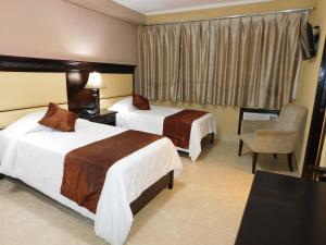 Twin Room Hotel Gran Via Panama