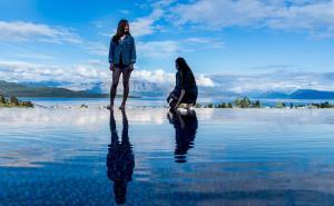 Luxurious Villa Kastro with Salt Water Swimming Pool, Vily  Nikiana - big - 64