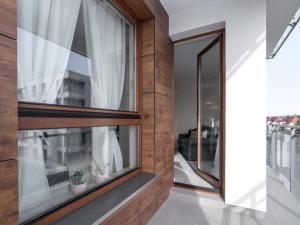 Apartament z widokiem na dworek