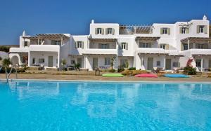 Yakinthos Residence, Apartmánové hotely  Panormos Mykonos - big - 72