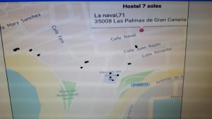 Hostal 7 Soles, Гостевые дома  Лас-Пальмас-де-Гран-Канария - big - 37