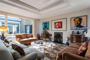 onefinestay - South Kensington private homes III, Апартаменты  Лондон - big - 144