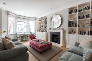 onefinestay - South Kensington private homes III, Апартаменты  Лондон - big - 137