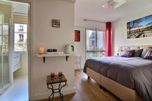 Assia & Nathalie - Luxury B&B MARAIS, Bed and Breakfasts  Paříž - big - 9