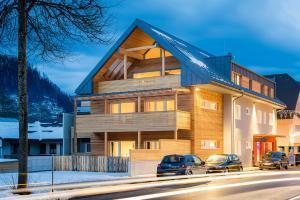 Apartmán Fleischerei - Apartments, Cafe & Weinbar Hinterstoder Rakousko